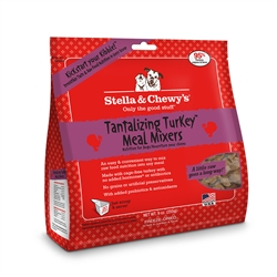 Stella & Chewys-Freeze-Dried Tantalizing Turkey Meal Mixers for Dogs - 8oz