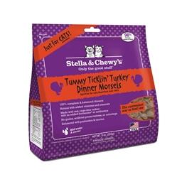 Stella & Chewys-Freeze-Dried Tummy Ticklin' Turkey Dinners for Cats - 9oz