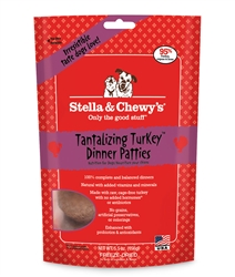 Stella & Chewys-Freeze-Dried Tantalizing Turkey Dinners for Dogs - 5.5oz