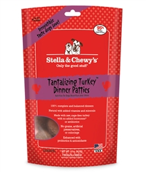 Stella & Chewys-Freeze-Dried Tantalizing Turkey Dinners for Dogs - 14oz