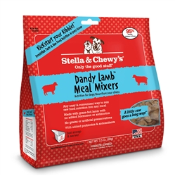Stella & Chewys -Freeze-Dried Dandy Lamb Meal Mixers for Dogs - 3.5oz