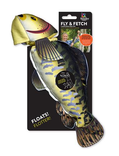 Fly & Fetch Fish Toy