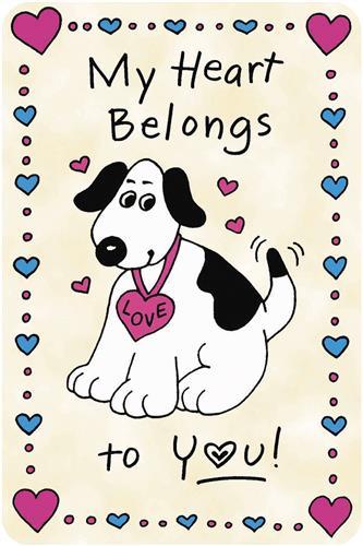 Crunch Card - My Heart Belongs to You!