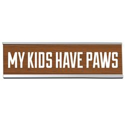 "My Kids 8"" Desk Sign"
