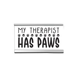 "Therapist  4"" Desk Sign"