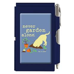 Dog Is Good Flip Note, Never Garden alone