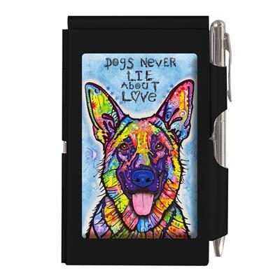 Dean Russo Flip Note, Dogs Never lie