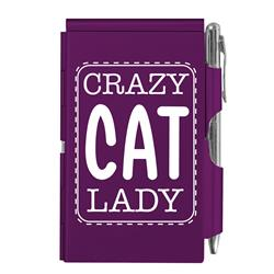 Crazy Cat Lady Flip Note