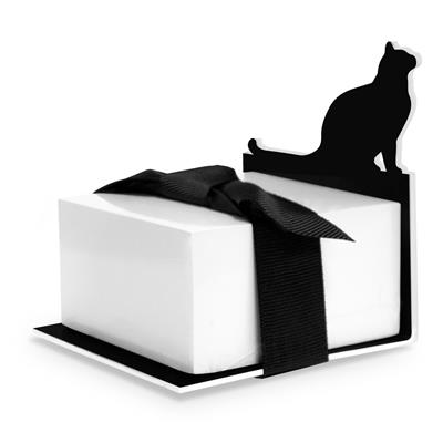 Cat Silhouette Sticky Note Stand