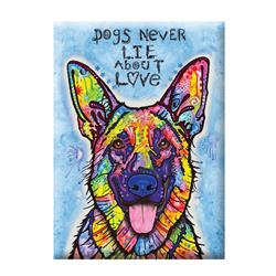 Magnet Dean Russo Dogs Never Lie