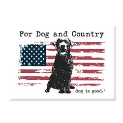 Magnet Dog Is Good Dog & Country