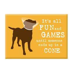 Magnet Dog Is Good Fun & games dog