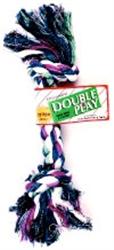 """Medium Double Knot Rope Bone, 12"""" long"""