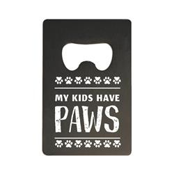 Magnetic Bottle opener My Kids Have Paws