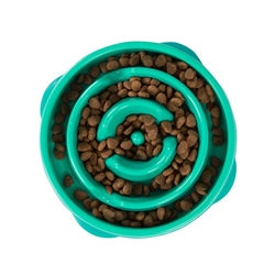 Outward Hound - Fun Feeder Drop Turquoise