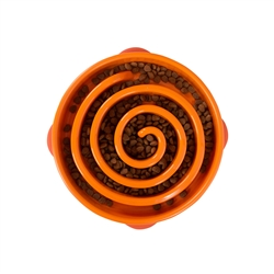Outward Hound - Fun Feeder Swirl Orange