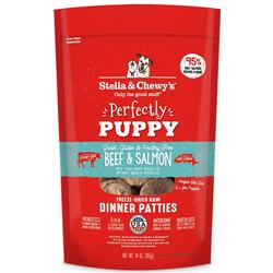Stella & Chewys Dog Freeze Dried PUPPY Beef Salmon Formula