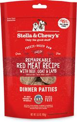 Stella & Chewys Dog Freeze Dried Dinner Red Meat Formula