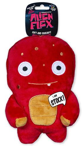 Stixx Alien Flex Plush Toy