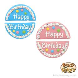 Birthday Paw-ty Collection, Prepackaged Share My Cake Blue and Pink, 10/Merch, MSRP $6.99