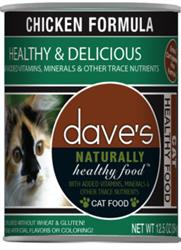 Dave Cat Naturally Healthy Chicken  22 oz. (case of 12)