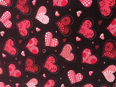 Hearts of Glitter Bandana