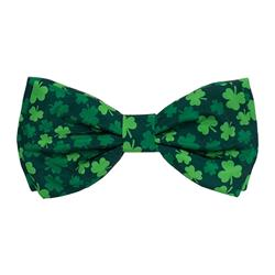 Lucky Shamrock Bow Tie by Huxley & Kent