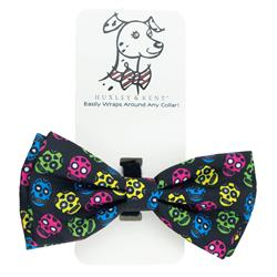 Huxley & Kent - Sugar Skull Bow Tie, Delivers February 2019