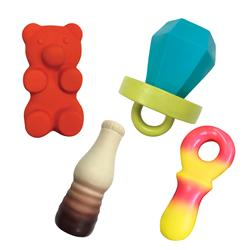 "Candy Chew Latex Toys ( 4"" - 5"")"