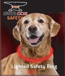 Lighted Safety Ring - Red