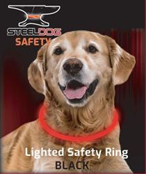 Lighted Safety Ring - Black