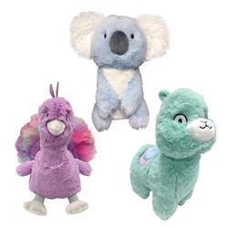 """Pastel Pals Fuzzy Plush Toys (8"""" - 9"""")"""