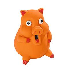 Funny Pig Sam Squeak-LESS, HUNTER International, Germany