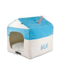 MIKK BOX SHAPE MICRO FLEES PET BED
