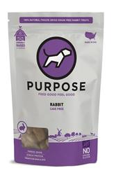 Purpose Freeze-Dried Rabbit Bites Treats For Dogs & Cats, 2.5oz. bags