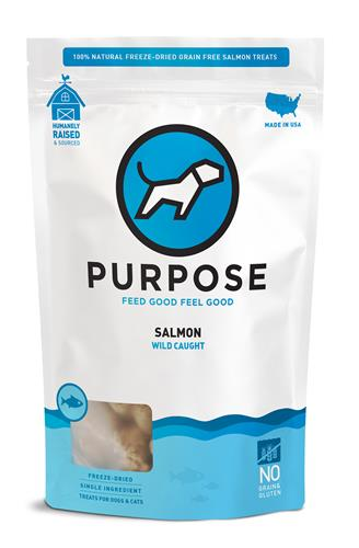 Purpose Freeze-Dried Wild Salmon Treats For Dogs & Cats, 3oz. bags