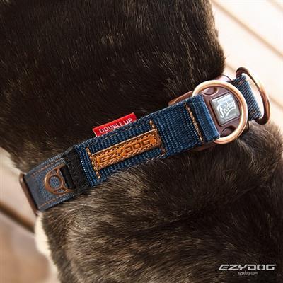 EzyDog Denim Double Up Collar - Friday Collective!