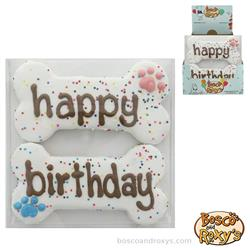 Birthday Paw-ty Collection, Prepackaged Happy Birthday Bones, 10/Case, MSRP $9.99