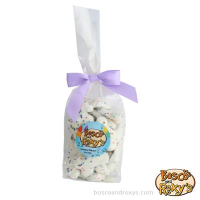 Birthday Paw-ty, Prepackaged 200g White with Sprinkle Bag of Bones, 6/Case, MSRP$5.99