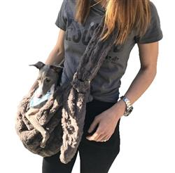 Adjustable Furbaby Sling bag, Charcoal
