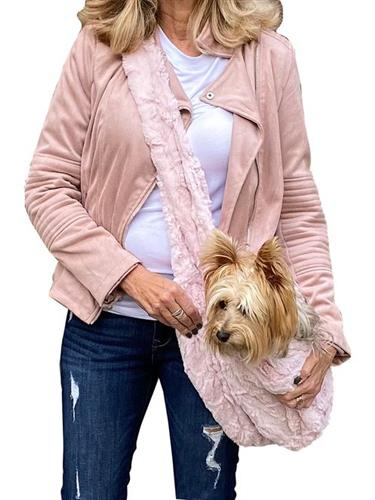 Adjustable Furbaby Sling bag, Blush Bella