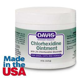 Davis Chlorhexidine Ointment - 4oz.