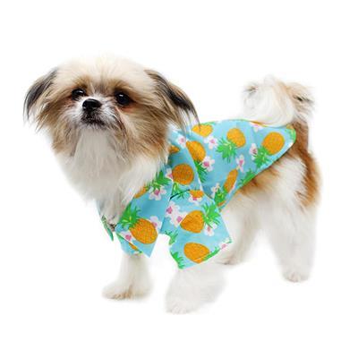 Pineapple Luau Aloha Camp Shirt