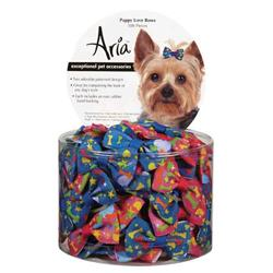 Aria Puppy Love Dog Bows - Canister of 100
