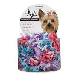 Aria Mia Dog Bows - Canister of 48