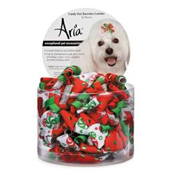 Aria Candy Dot Barrettes - Canister of 36
