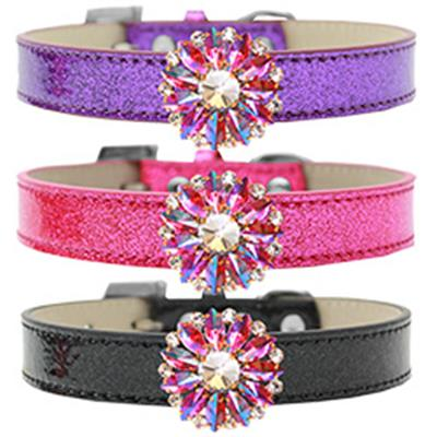 Pink Rose Ice Cream Dog Collar
