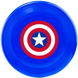 Captain America Pet Toy Frisbee by Buckle-Down
