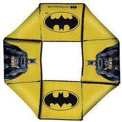 Batman JL Rebirth Pose/Bat Icon Yellow Pet Flyer Toy by Buckle-Down