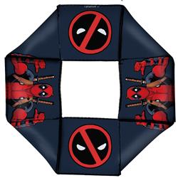 Deadpool This Guy Pose/Logo2 Gray/Red/Black/White Pet Flyer Toy by Buckle-Down
